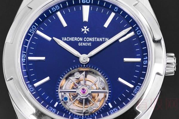 江诗丹顿纵横四海系列首款陀飞轮手表回收价位敌手多吗?