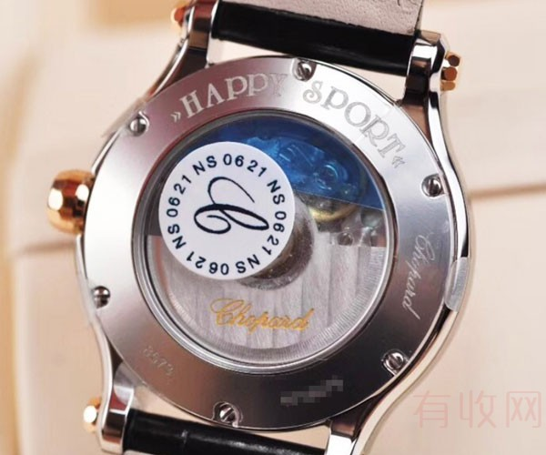 萧邦快乐五钻二手名牌手表回收时品牌价值会有影响吗