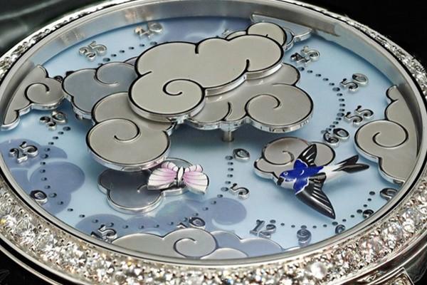 梵克雅宝诗意复杂功能哪里回收手表有机可乘?空中芭蕾美呆了