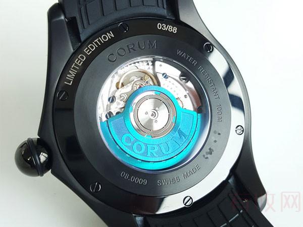 炫彩昆仑泡泡PVD涂层二手手表回收大概几折 手表价格如何估算