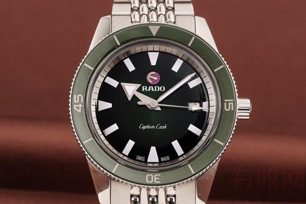 雷达手表旧手表回收一定比新款估价低吗