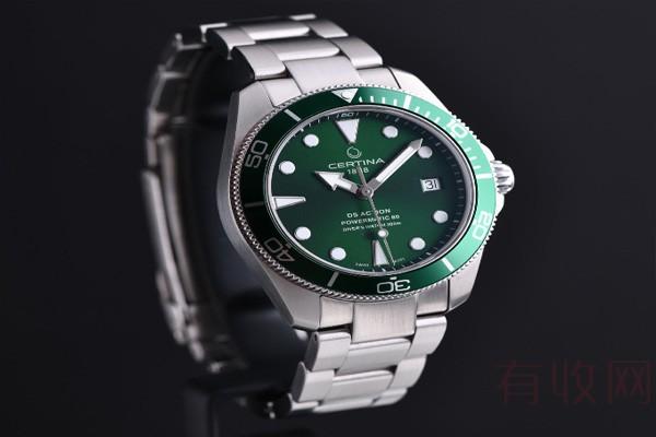 二手雪铁纳手表回收价格和什么有关