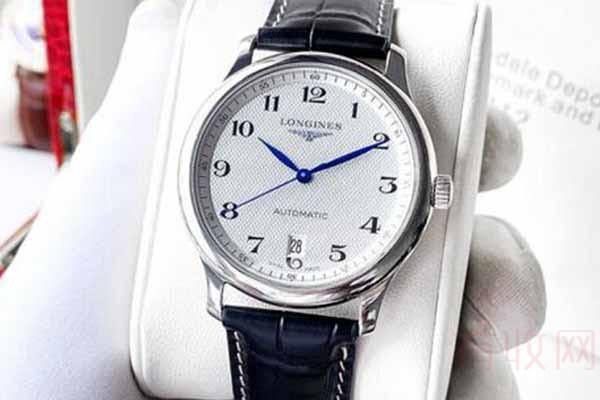 简约款式的浪琴手表回收什么价