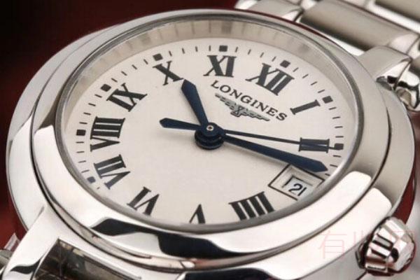 九五新成色的浪琴手表能回收多少钱