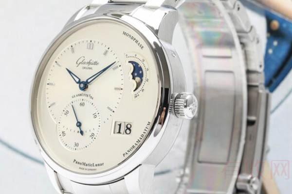 二手格拉苏蒂偏心月相手表回收价值怎么样