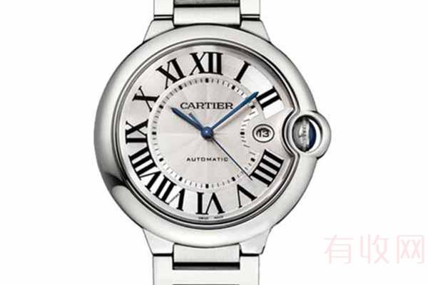 经典款的卡地亚手表回收打几折