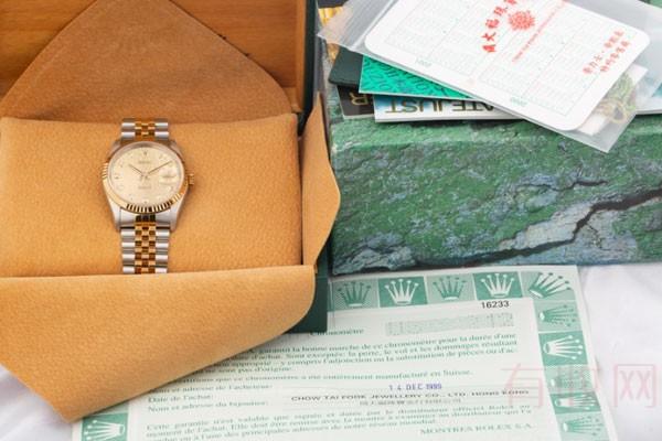 劳力士手表回收价格该怎么判断