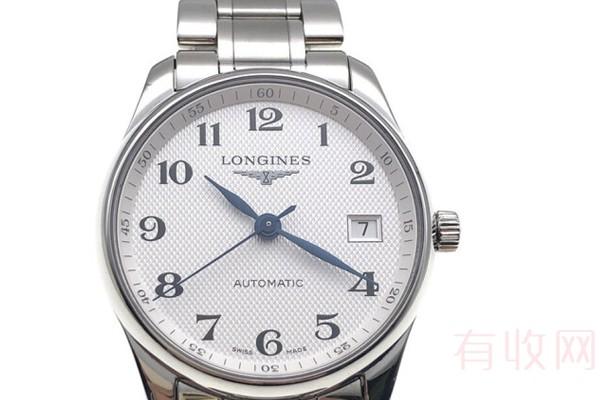 95成新的浪琴名匠手表回收多少钱